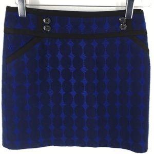 Forenza Blue Skirt Black Polka Dot's (J2013)